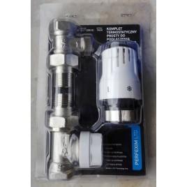 Komplet termostatyczny prosty do podłączenia grzejnika A.7024
