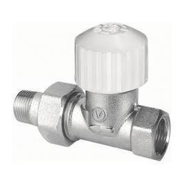 Zawór termostatyczny prosty niklowany 3/4 zt22