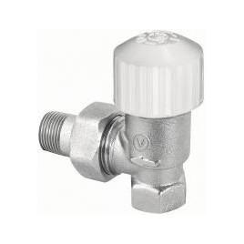Zawór termostatyczny kątowy niklowany 3/8 zt22-fk10