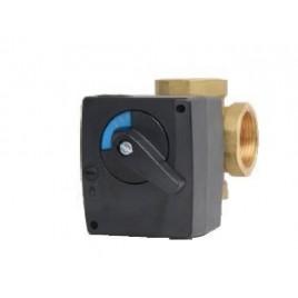 Zawór mieszający MIX M 4-25 kv 12 z siłow. MP 10-230/140