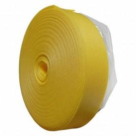 Taśma brzegowa z folią 25mx150x8 żółta samoprzylepna