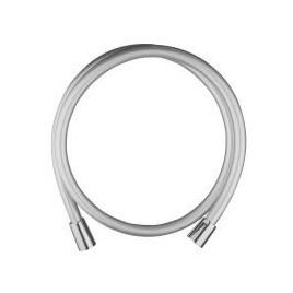 Wąż natrysku l-160 tworzywo srebrny