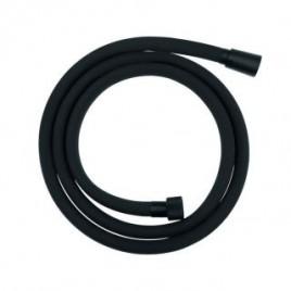 wąż natryskowy PRETTO 1500mm silikonowy, czarny