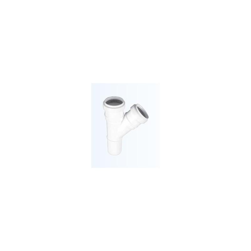 Trójnik HTEA 32/32/88,5 biały