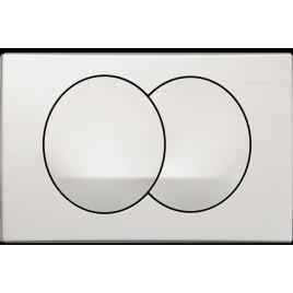 Przycisk delta20 biały przedni Geberit