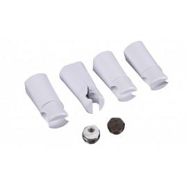 Zestaw montażowy Ambra, Omega R biały (4 uchwyty), INSTAL PROJEKT