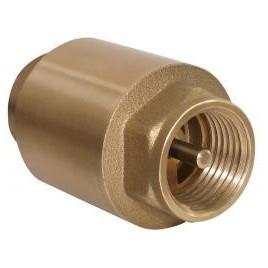 Zawór zwrotny ze sprężyną 1 z metalowym trzpieniem